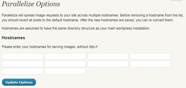 Parallelize wordpress Plugin