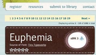 type font