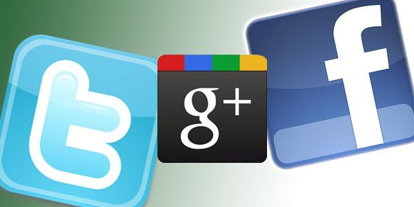 Twitter Google-Plus Facebook