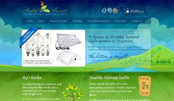 hydroponics and organics