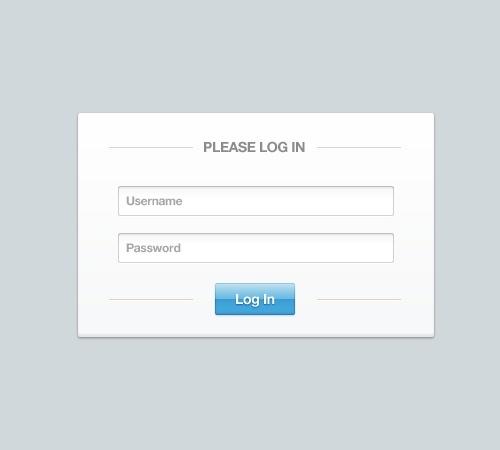 Login & Signup Form