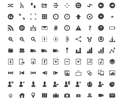 developers icons