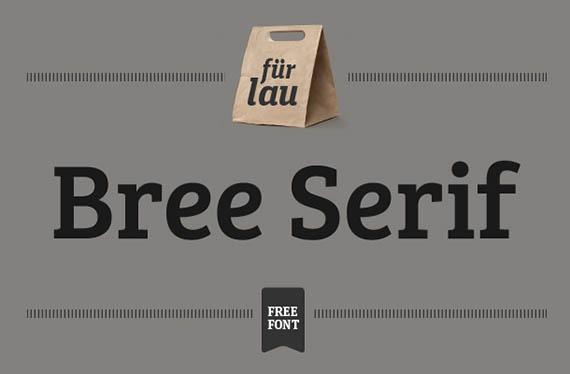 Bree Serif font