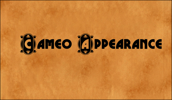Cameo Appearance font