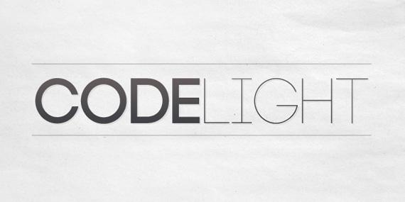 Code Light font