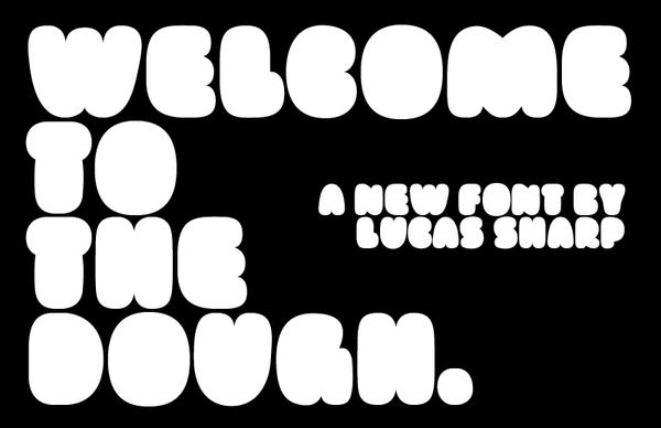 Doughboy font