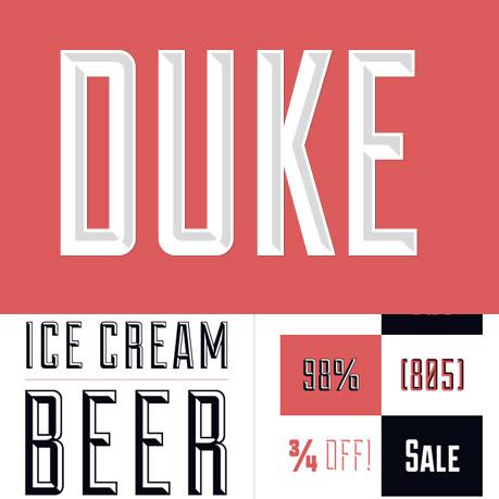 Duke font