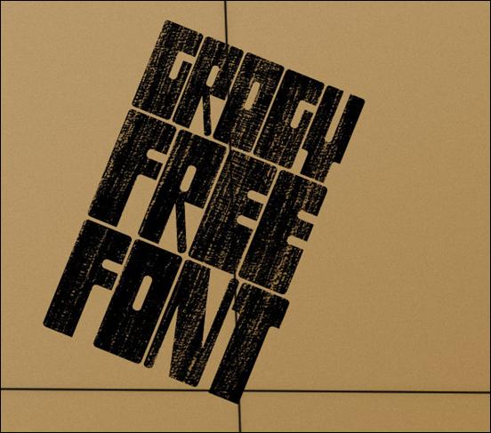 Grogy font