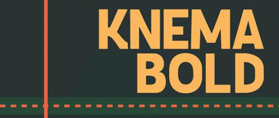 Knema Bold font