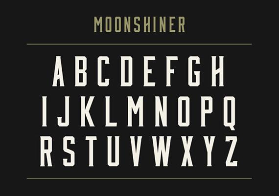 Moonshiner font