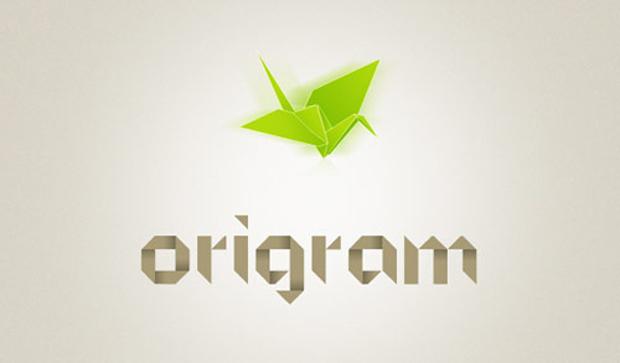 Origam font