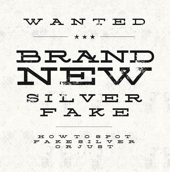 Silverfake font