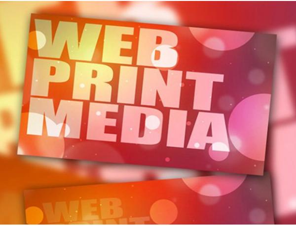 web print media