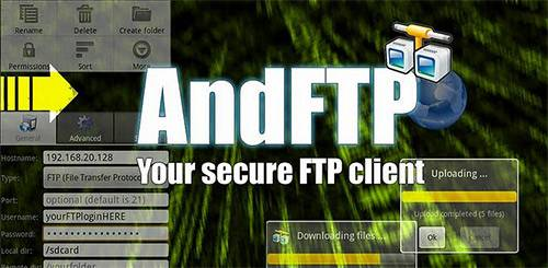 AndFTP Android APP