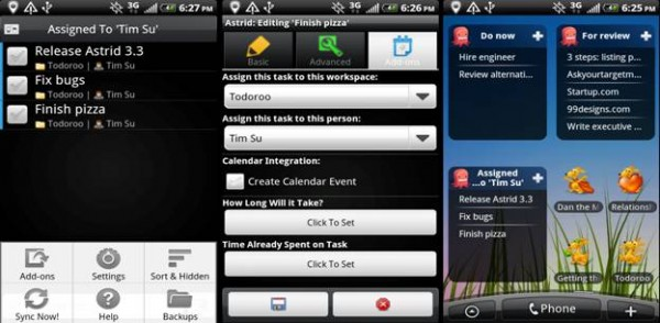 Astrid Task Android APP