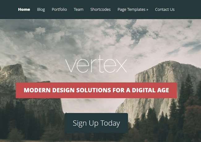 vertx wordpress theme