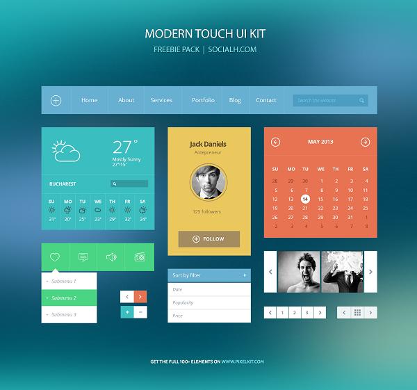 Modern Touch Freebie